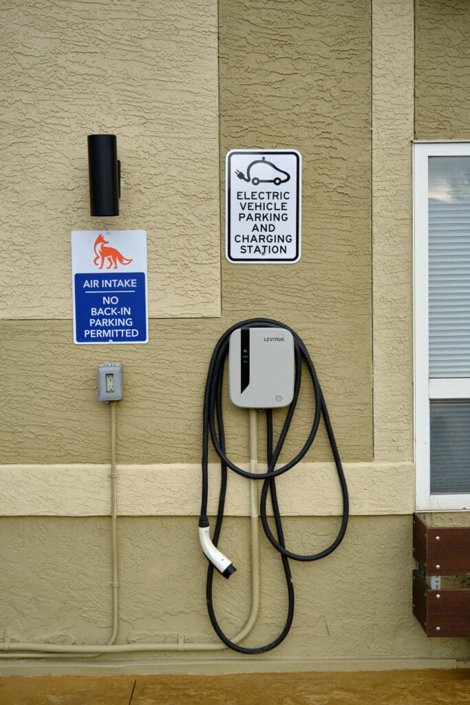 Electrical vehicle charging station